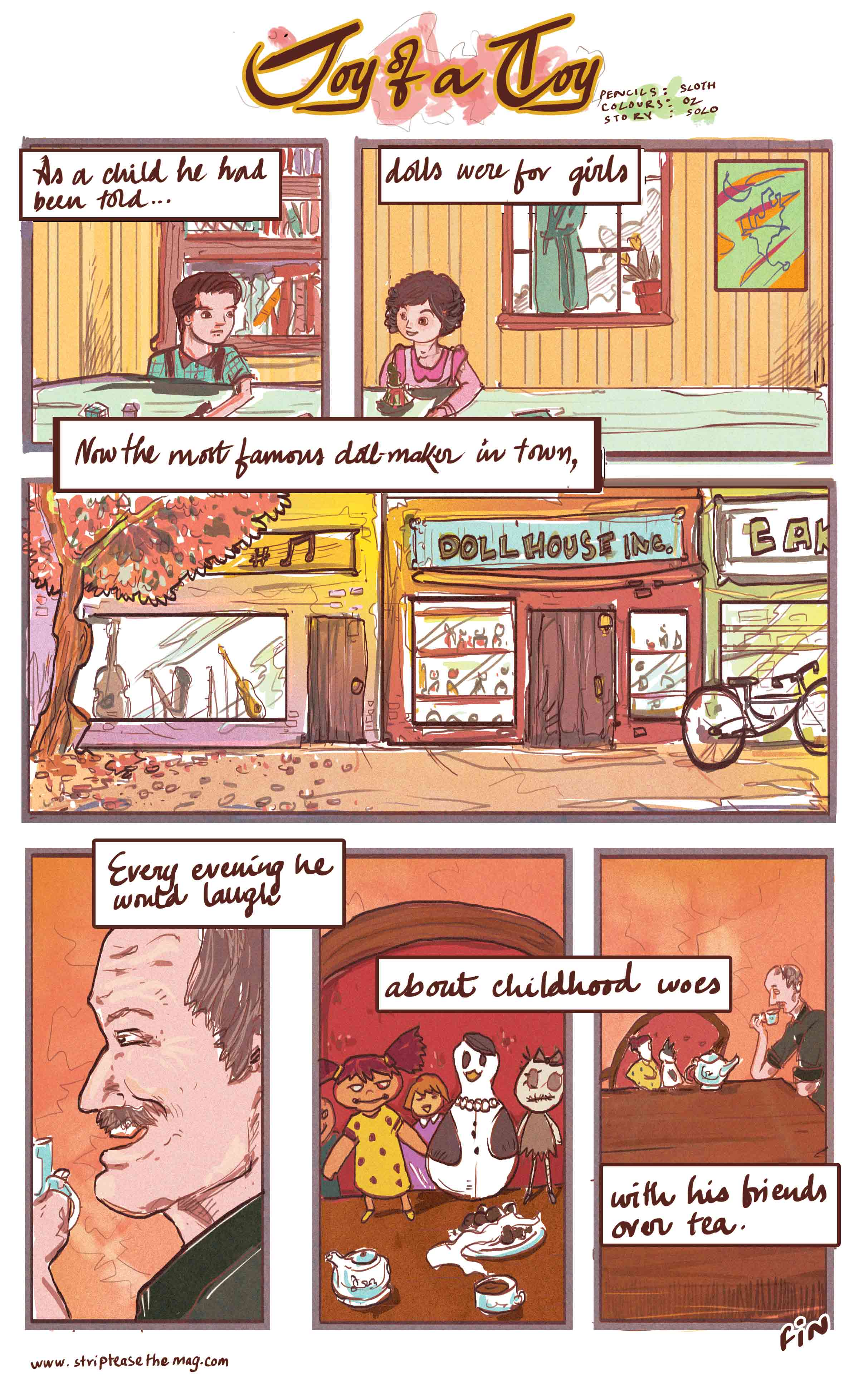 Sunday Comics 02 - Joy of a Toy